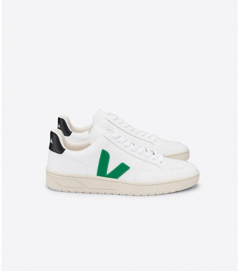 V12 EXTRA WHITE EMERAUD BLACK-Shoes-Veja-41-UPTOWN LOCAL