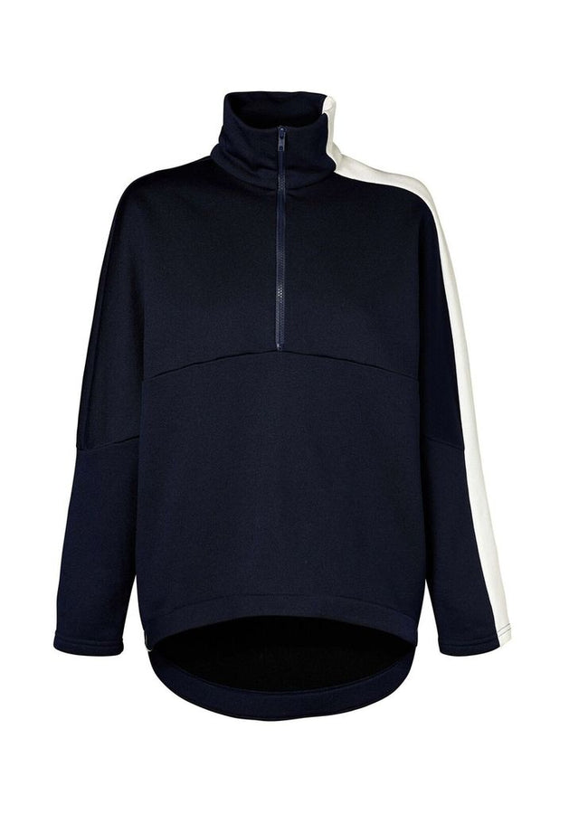 Manning Sweater Navy-Jumpers-Viktoria and Woods-UPTOWN LOCAL