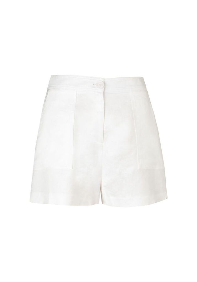 Palmer Short White-Shorts-Viktoria and Woods-UPTOWN LOCAL