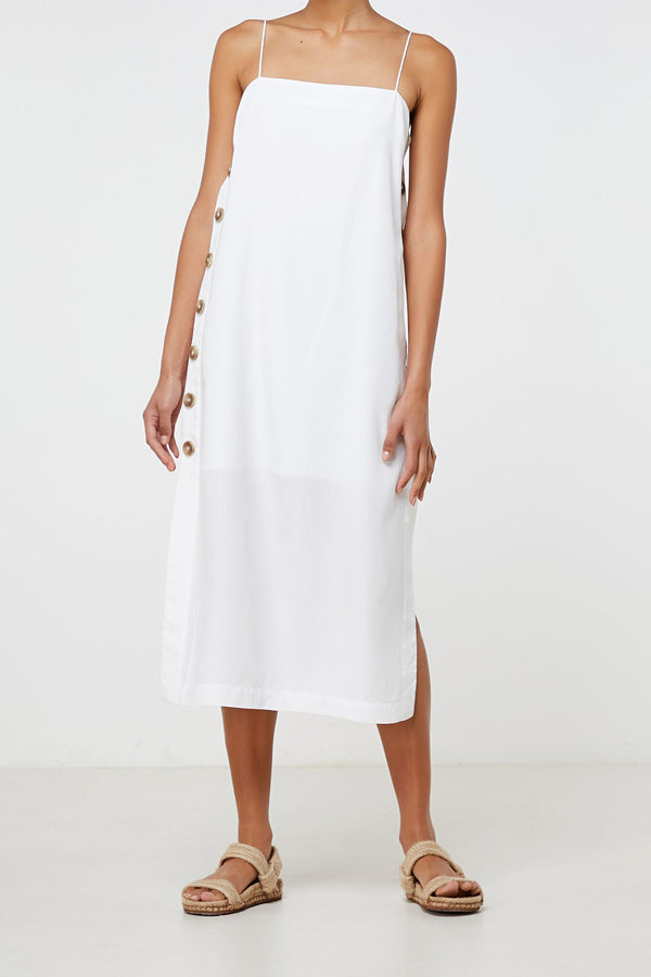 Solene Dress White-Dresses-Elka Collective-UPTOWN LOCAL