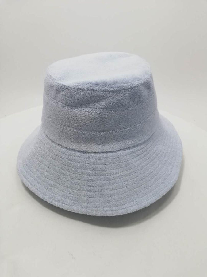 Terry Bucket Hat Blue-Hats-Araminta James-UPTOWN LOCAL