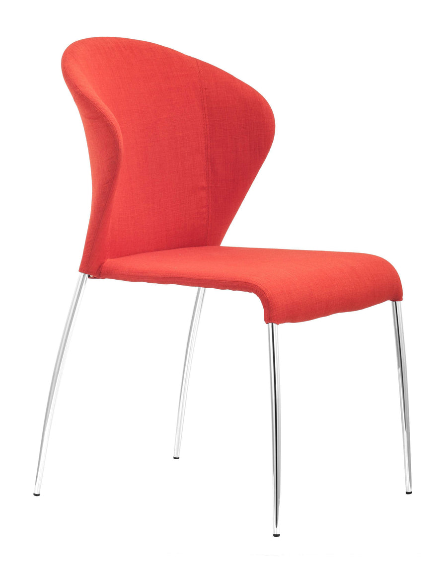 Oulu Dining Chair Tangerine (Set of 2) image