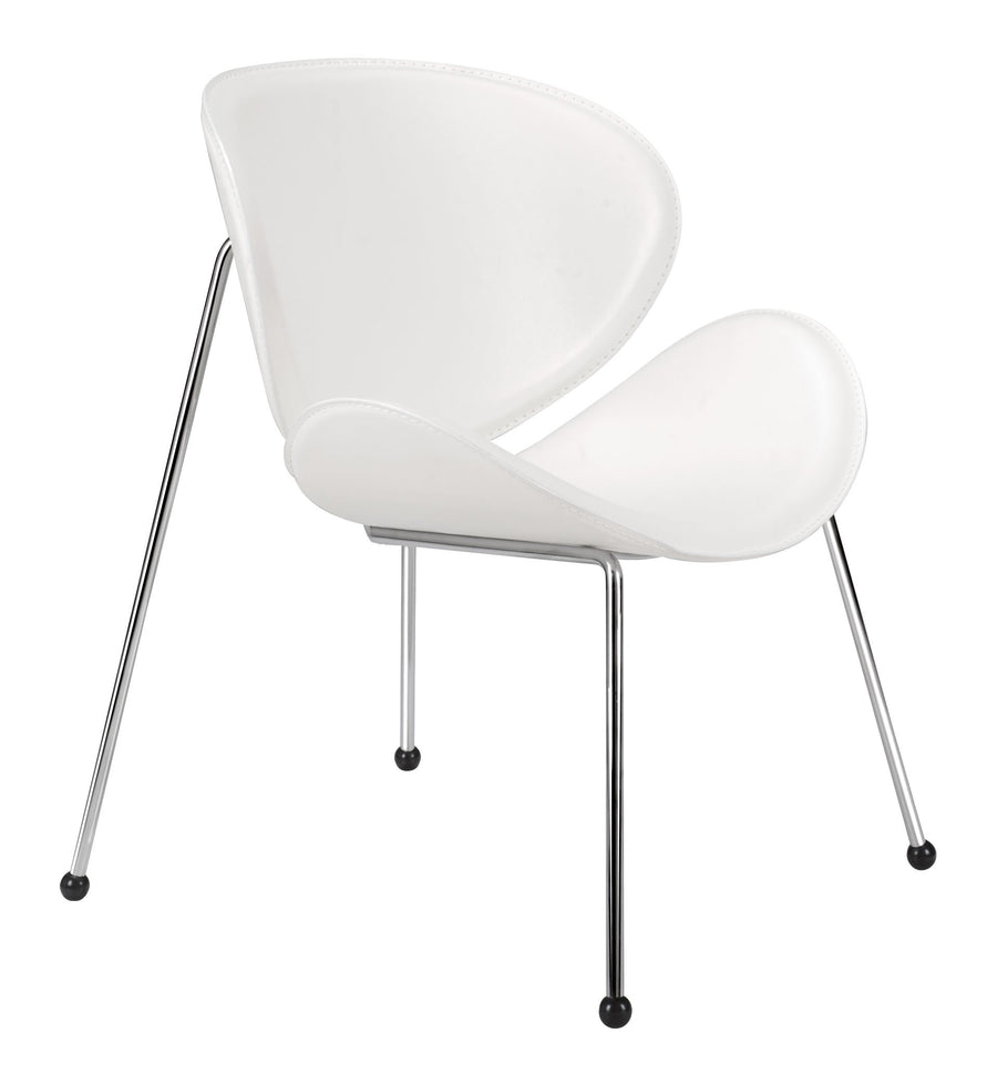 Match Occasional Chair White (set of 2)