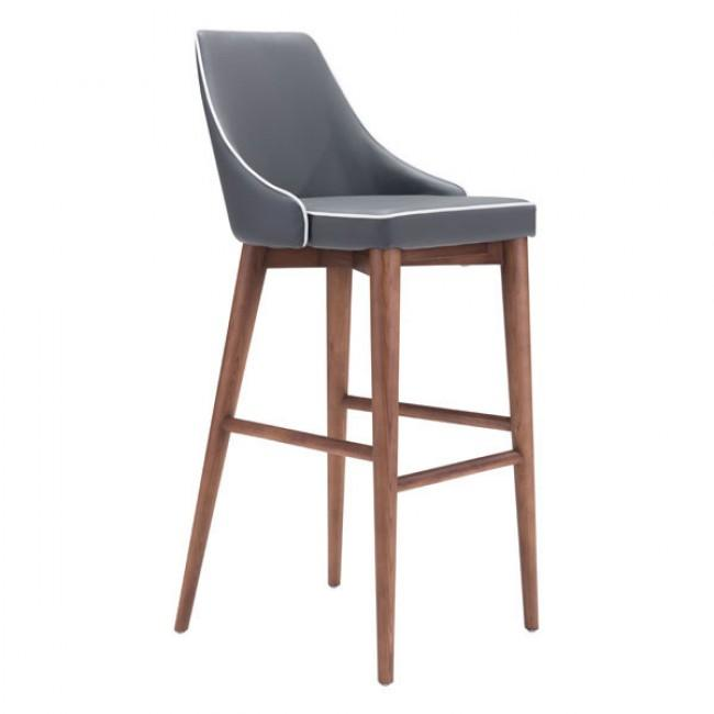 Moor Bar Chair Dark Gray