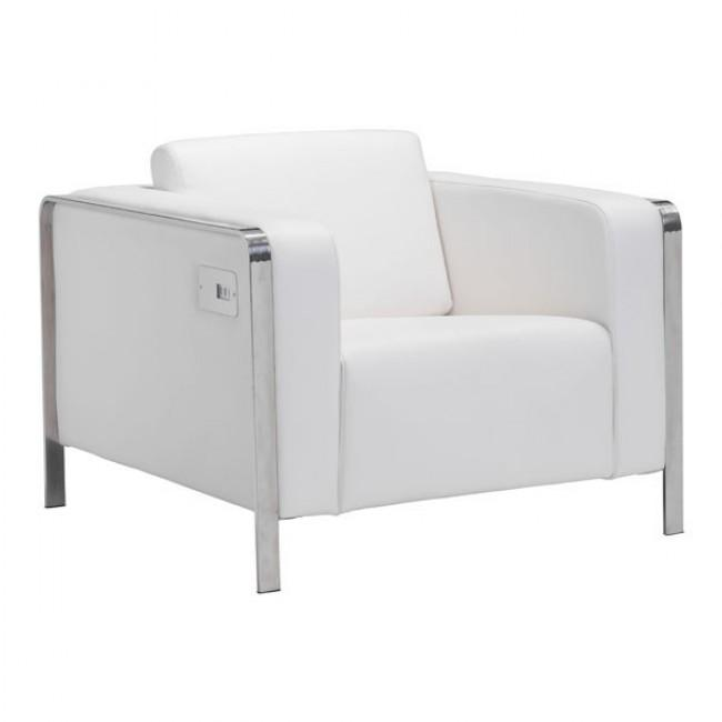 Thor Arm Chair White