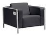 THOR ARM CHAIR BLACK image