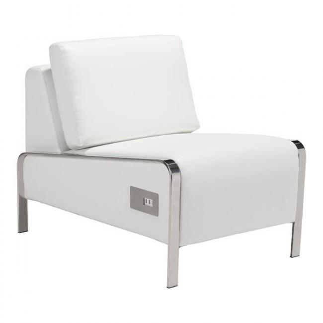 Thor Armless Chair White