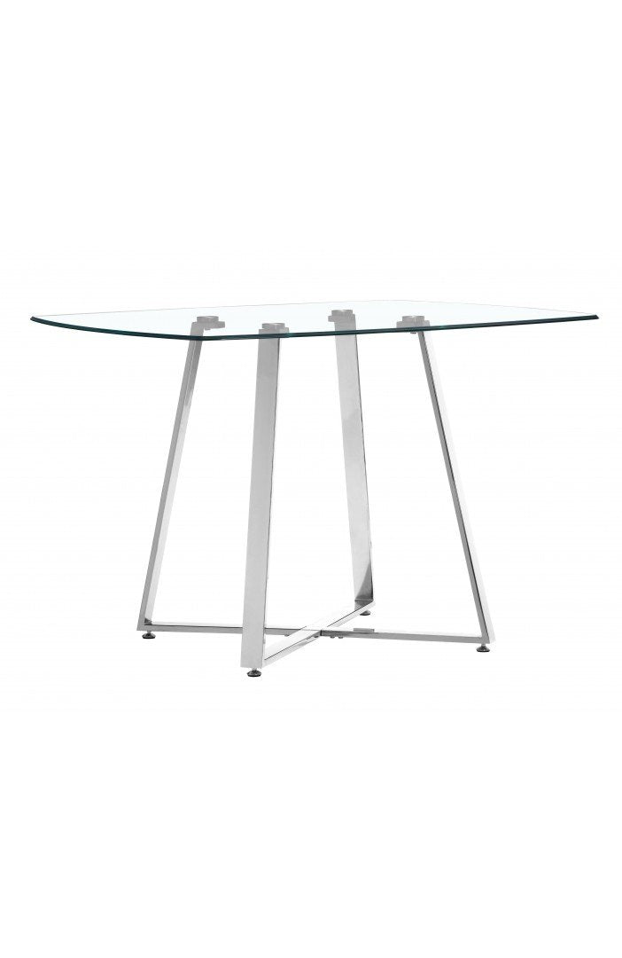 Lemon Drop Dining Table Chrome image