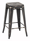Marius Counter Stool Antique Black Gold image
