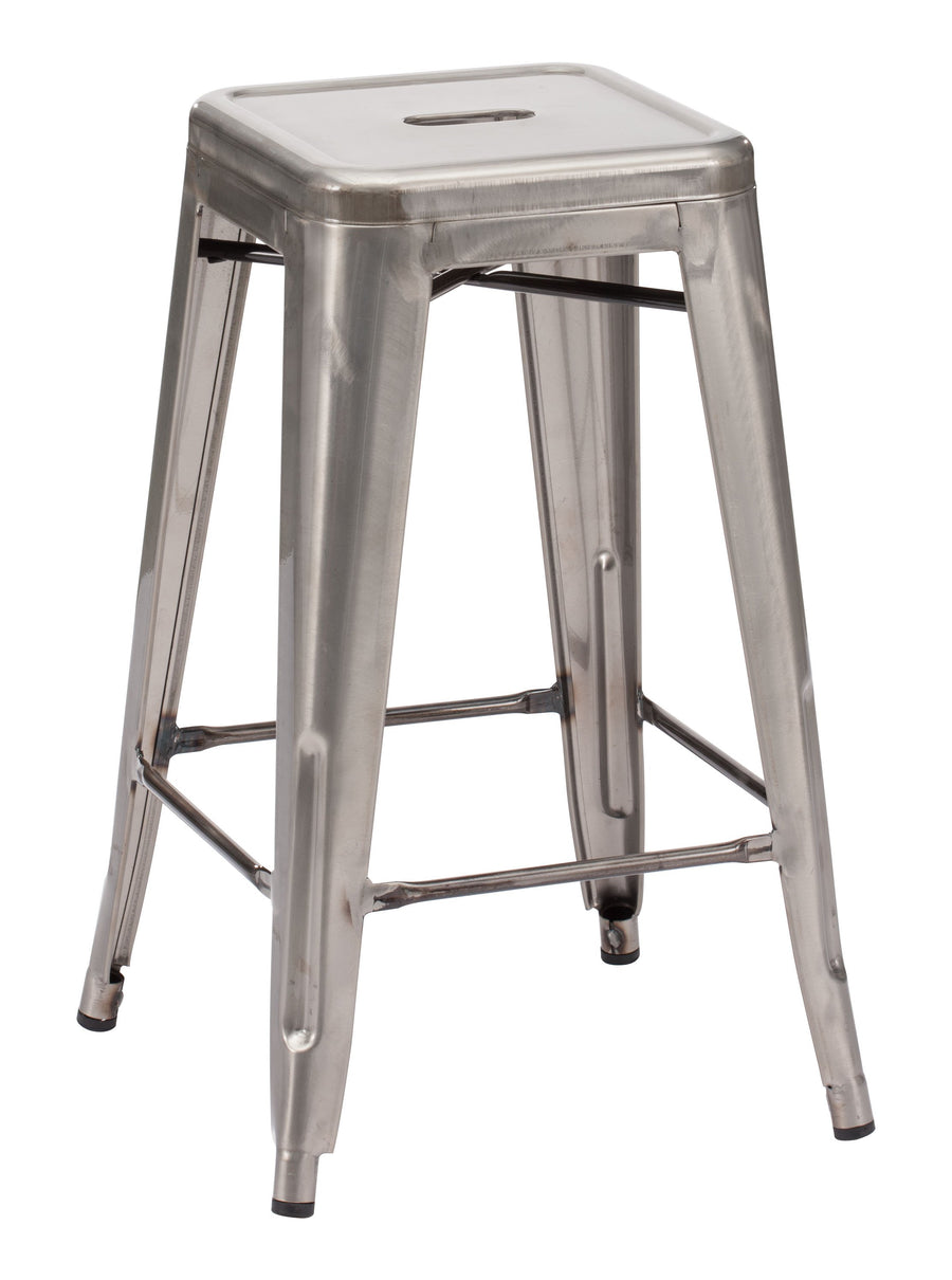 Marius Counter Stool Gunmetal image
