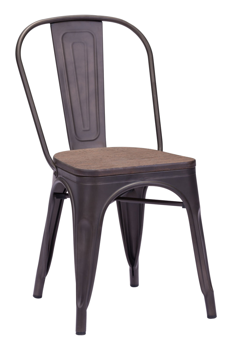 Elio Dining Chair Rustic Wood image