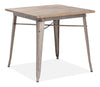 Titus Dining Table Rustic Wood image