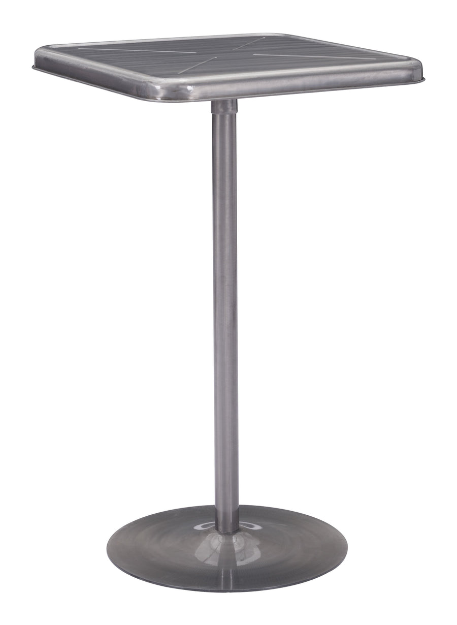 Mallus Bar Table Gunmetal image