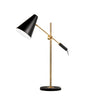 1LT Adjustable Table Lamp, Black & Vintage Bronze image