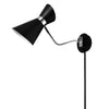 1LT Wall Lamp, Black & Polished Chrome Finish image