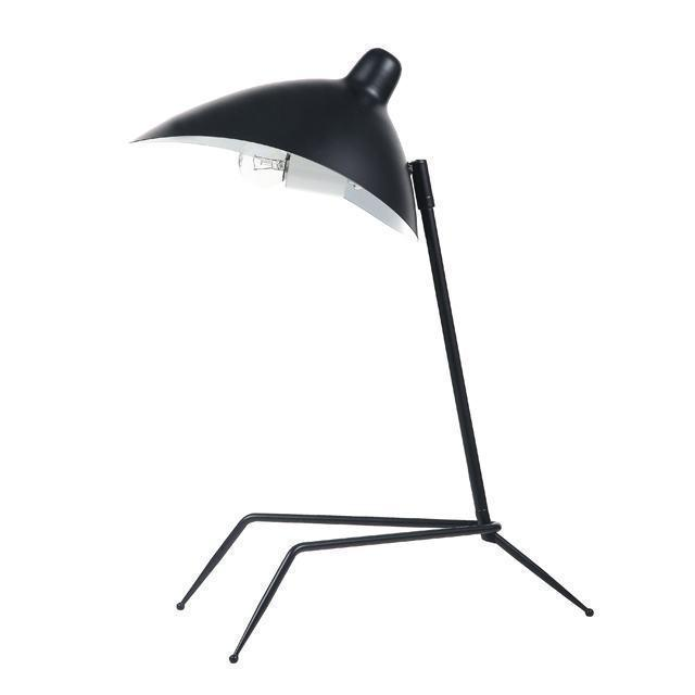 1LT Table Lamp, Matte Black image