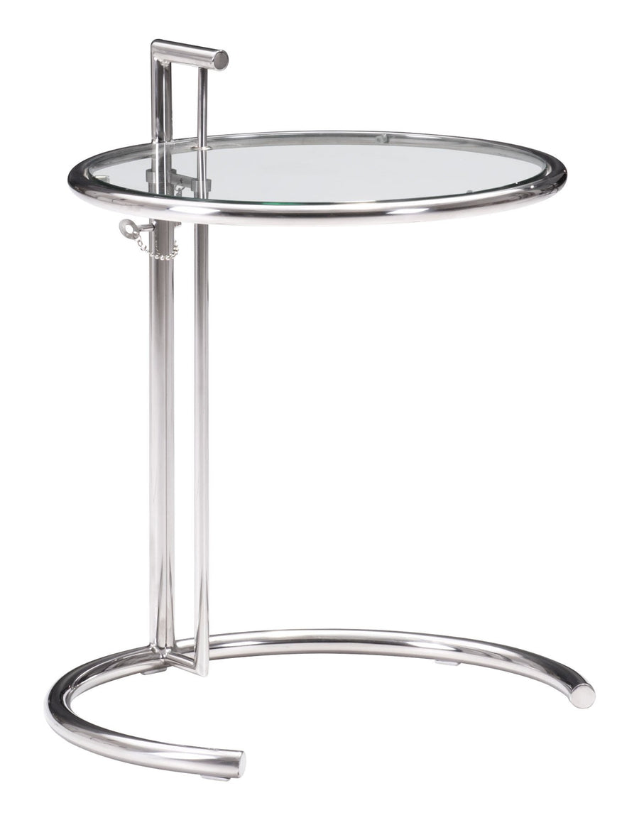 Eileen Gray Side Table Chrome image