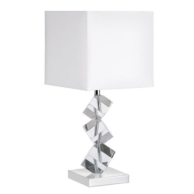 Table Lamp w/ Crystal Cubes image