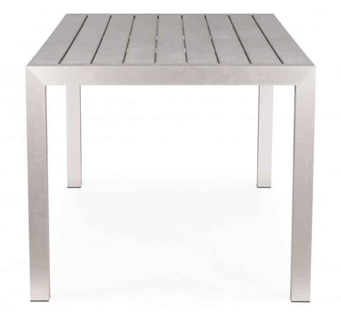 Metropolitan Dining Table Brushed Aluminum image