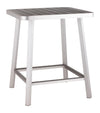 Megapolis Bar Table Brushed Aluminum image