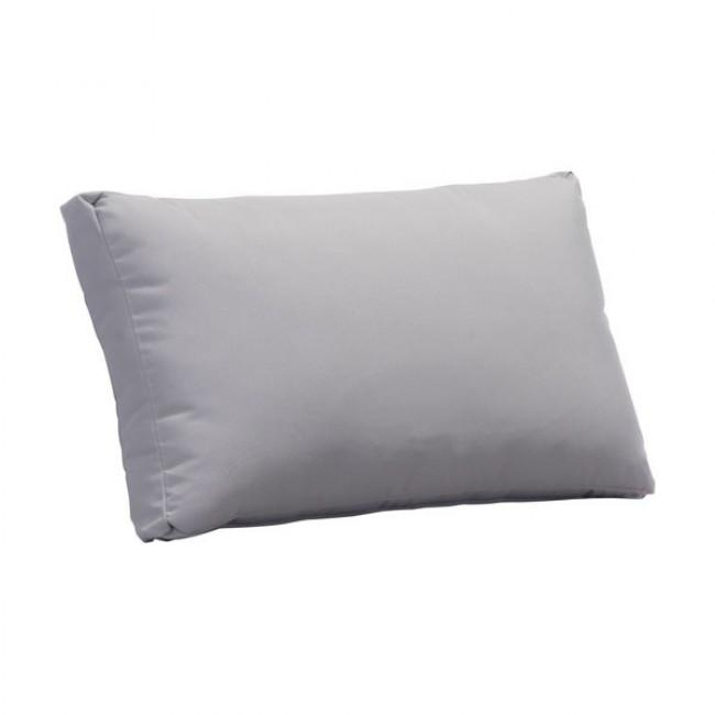 Sand Beach Back Cushion Light Gray