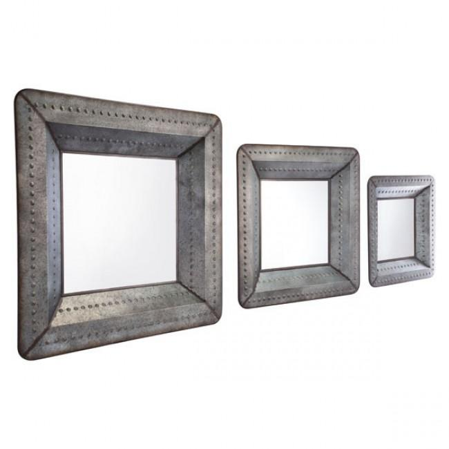Set Of 3 Antique Mirrors Antique