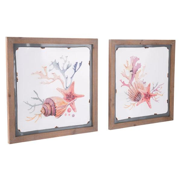 Sea 2 Wall Decor Multicolor