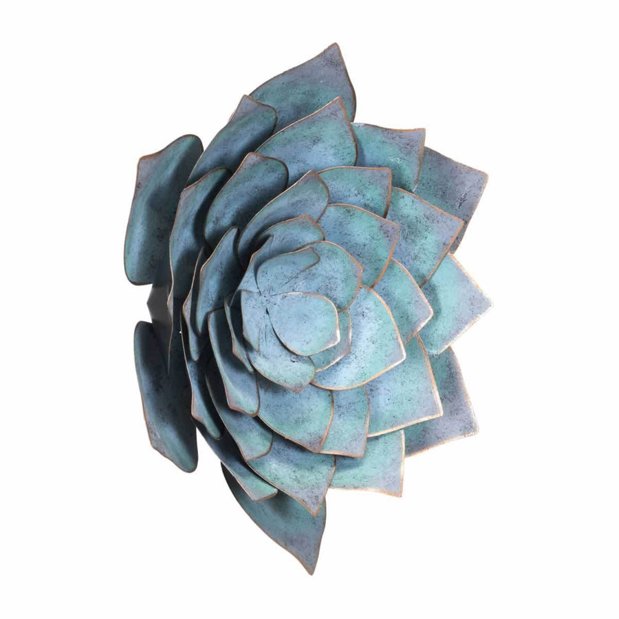 Lotus Lg Wall Décor Blue