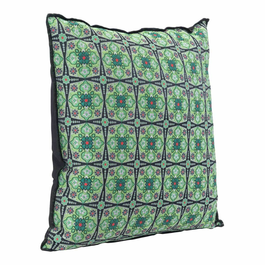 Bees Verdigrin Pillow Green