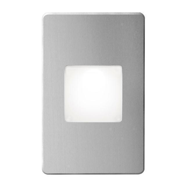 Brushed Alum Rectangle In/Out 3W LED image