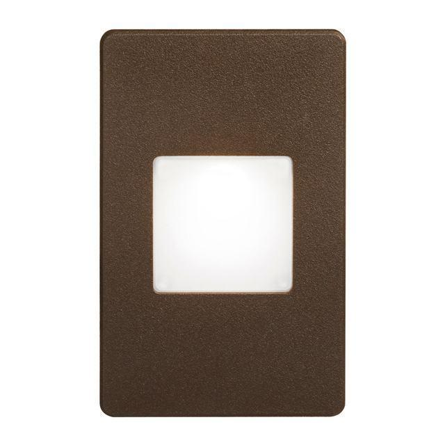 Bronze Rectangle In/Outdoor 3W LED Wa image