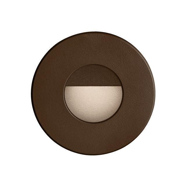 Bronze Round In/Outdoor 3W LED Wall Ligh image