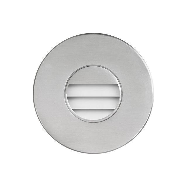 (K)Brushed Alum Round In/Outdoor 3W LED image
