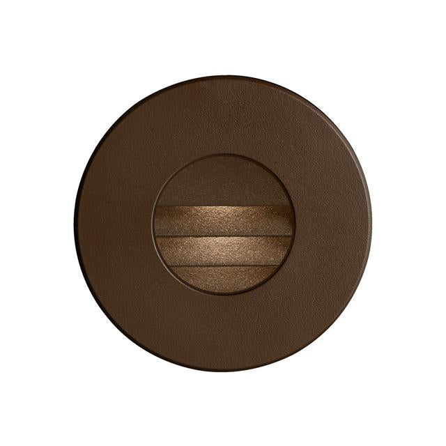 Bronze Round In/Outdoor 3W LED Wall Light image