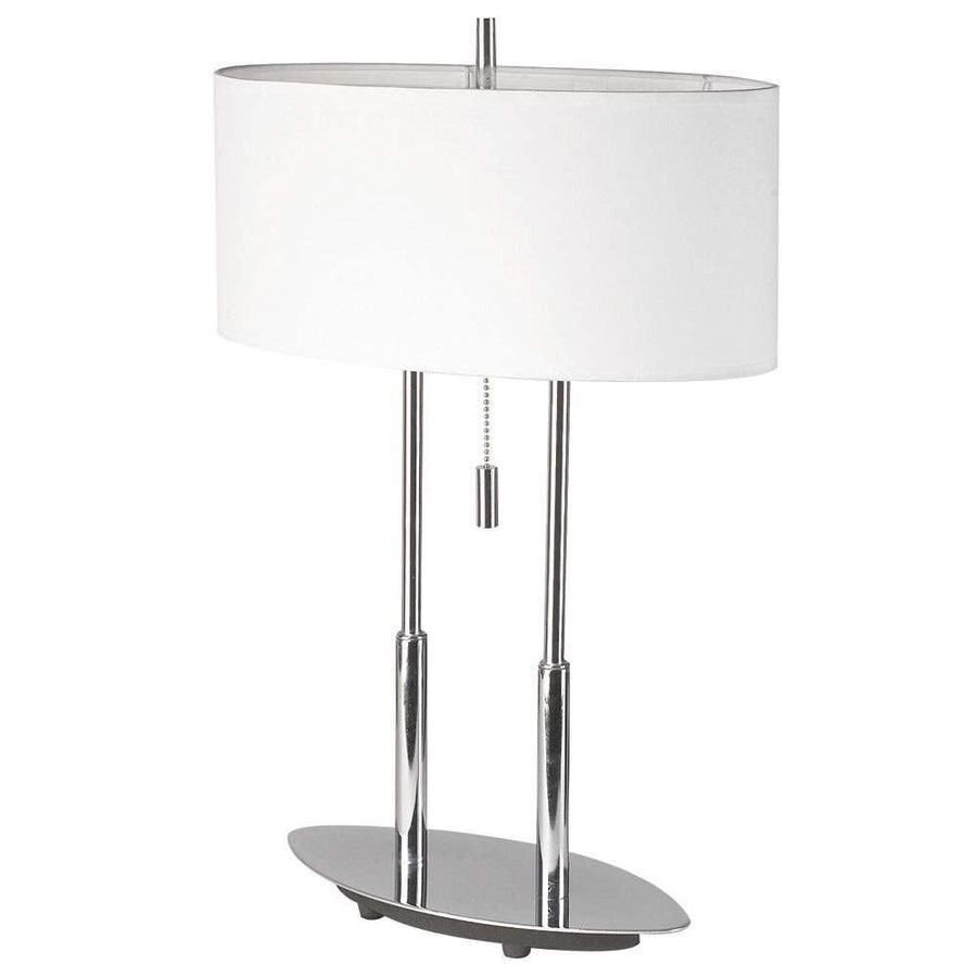 Table Lamp, Oval Shade image