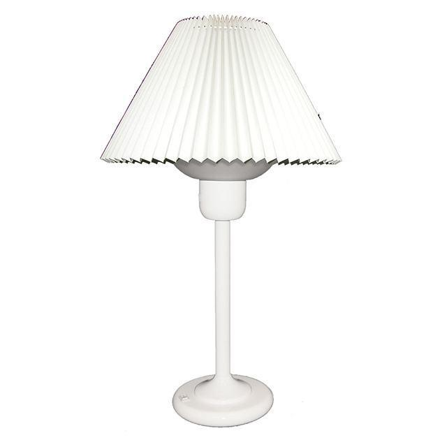 Table Lamp W/200W Bulb - White image
