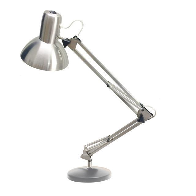 LED Table Lamp, Satin Chrome Finish image