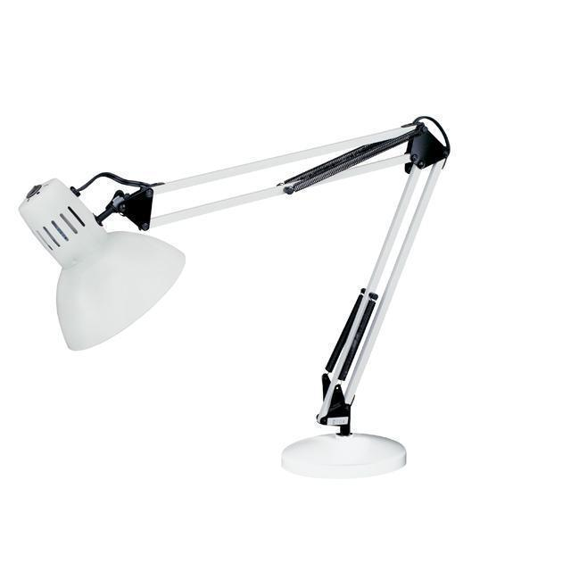 LED Table Lamp, White Finish image