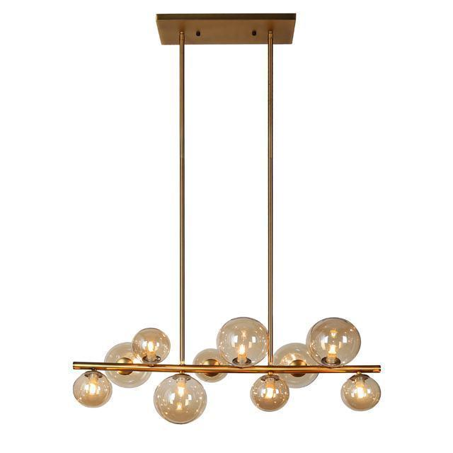 10 Light Horizontal Pendant