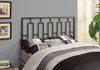 BED - QUEEN OR FULL SIZE / BLACK HEAD OR FOOTBOARD image