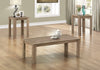 TABLE SET - 3PCS SET / DARK TAUPE image