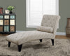 CHAISE LOUNGER - SANDSTONE / GREY