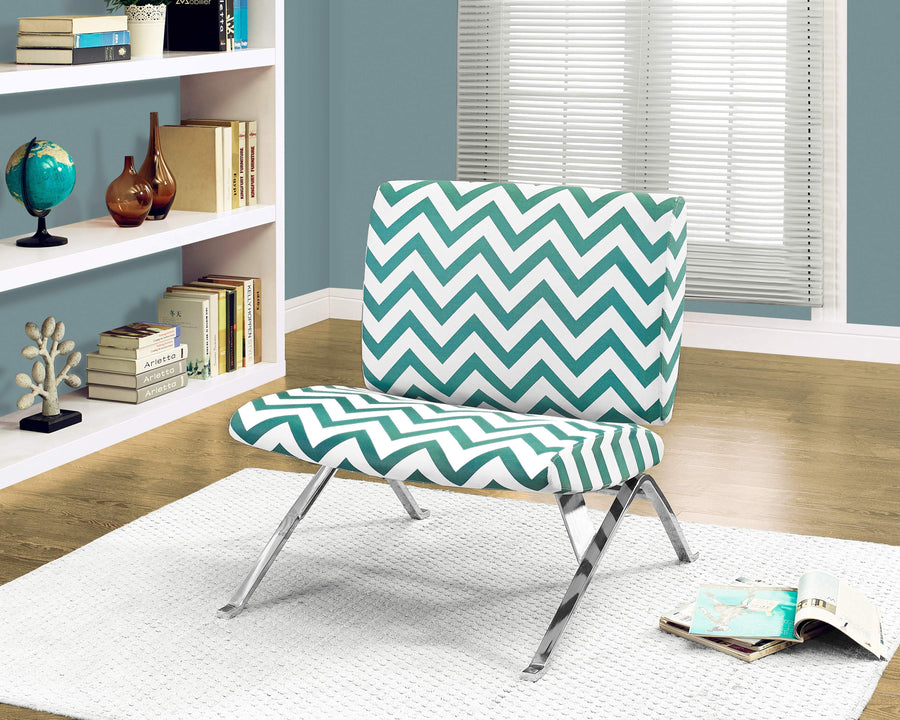 ACCENT CHAIR - TEAL