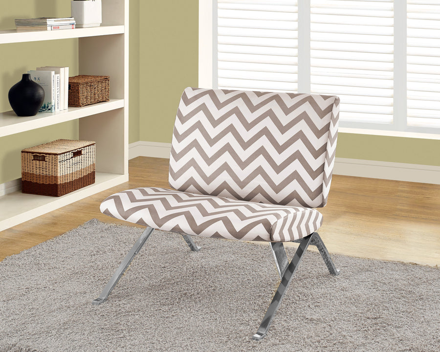 ACCENT CHAIR - DARK TAUPE