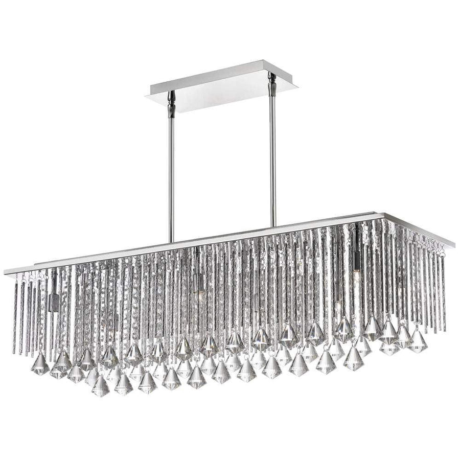 10LT Crystal Horizontal Chandelier image