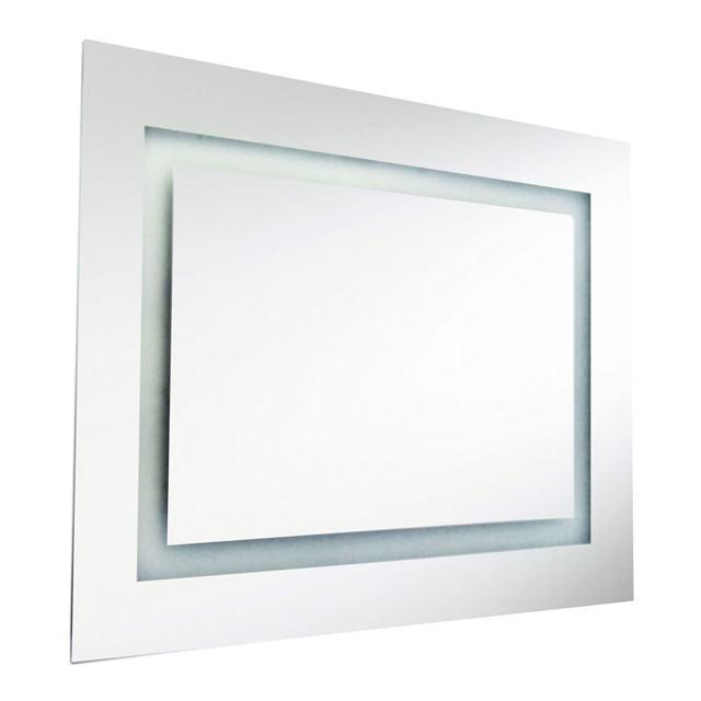 47W Rectangular Mirror, Inside Illumin 36x26 Inch image