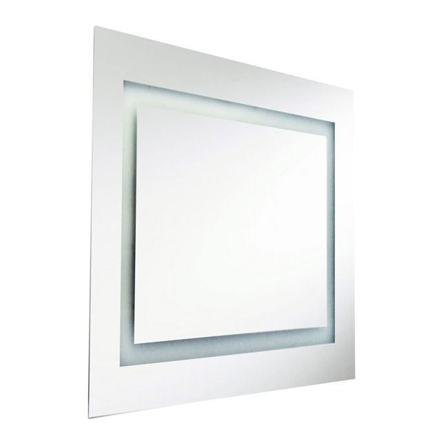 58W Square Mirror, Inside Illuminated 36 Inch image