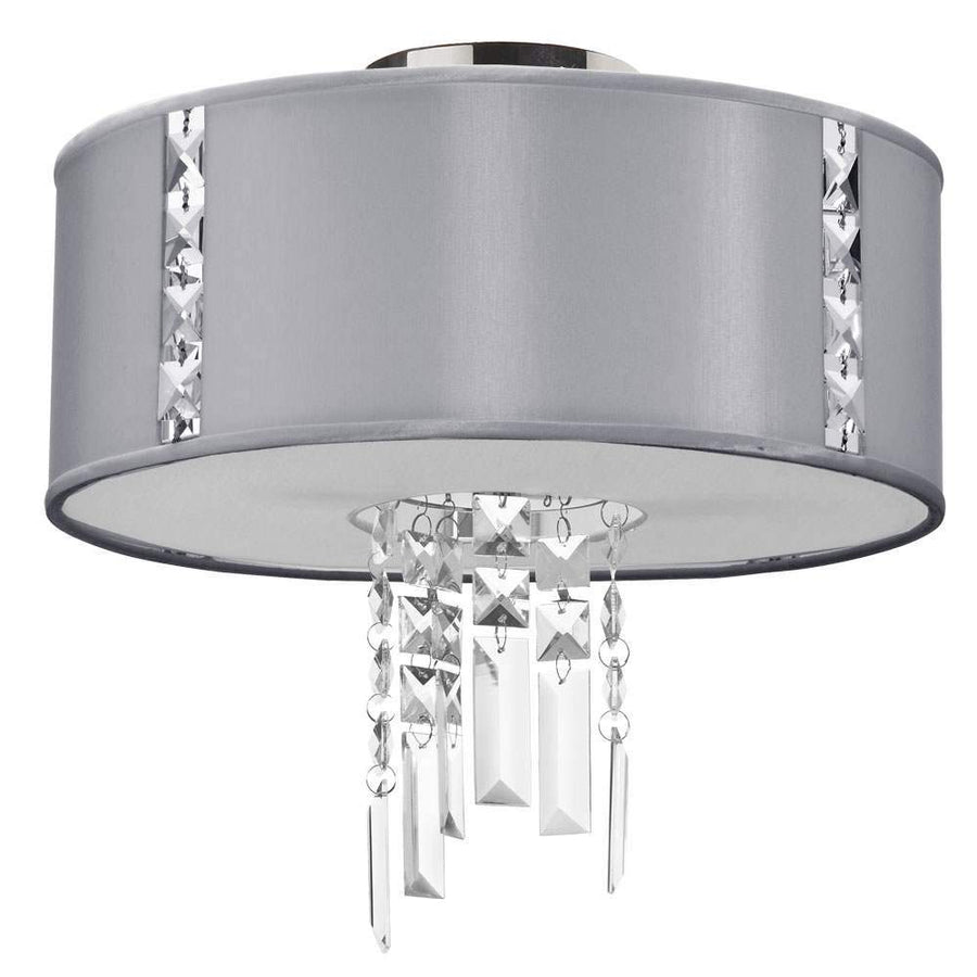 2LT Semi Flush Fixture, Steel image