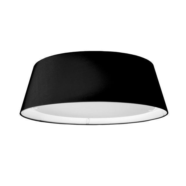 14W LED Flush Mount, Black image