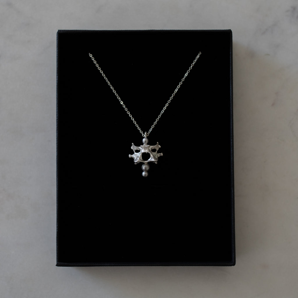 We Are Haunted Vertebra Necklace